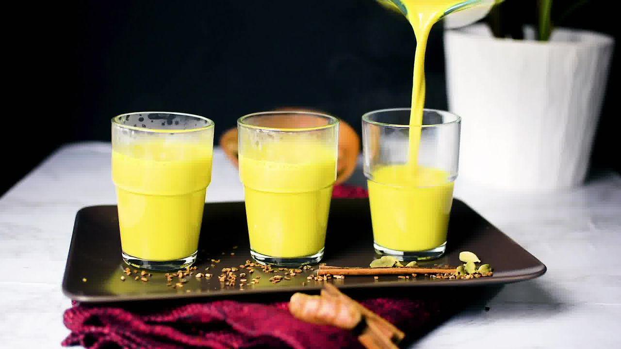 Image of the cooking step-1-9 for Golden Milk - Turmeric Milk - Haldi Doodh