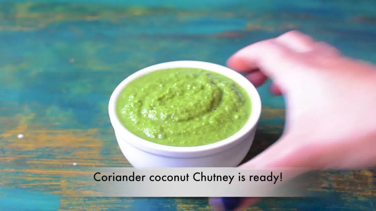 Image of the cooking step-1-3 for Coriander Chutney – Hare Dhaniye Ki Chutney (3 Ways)