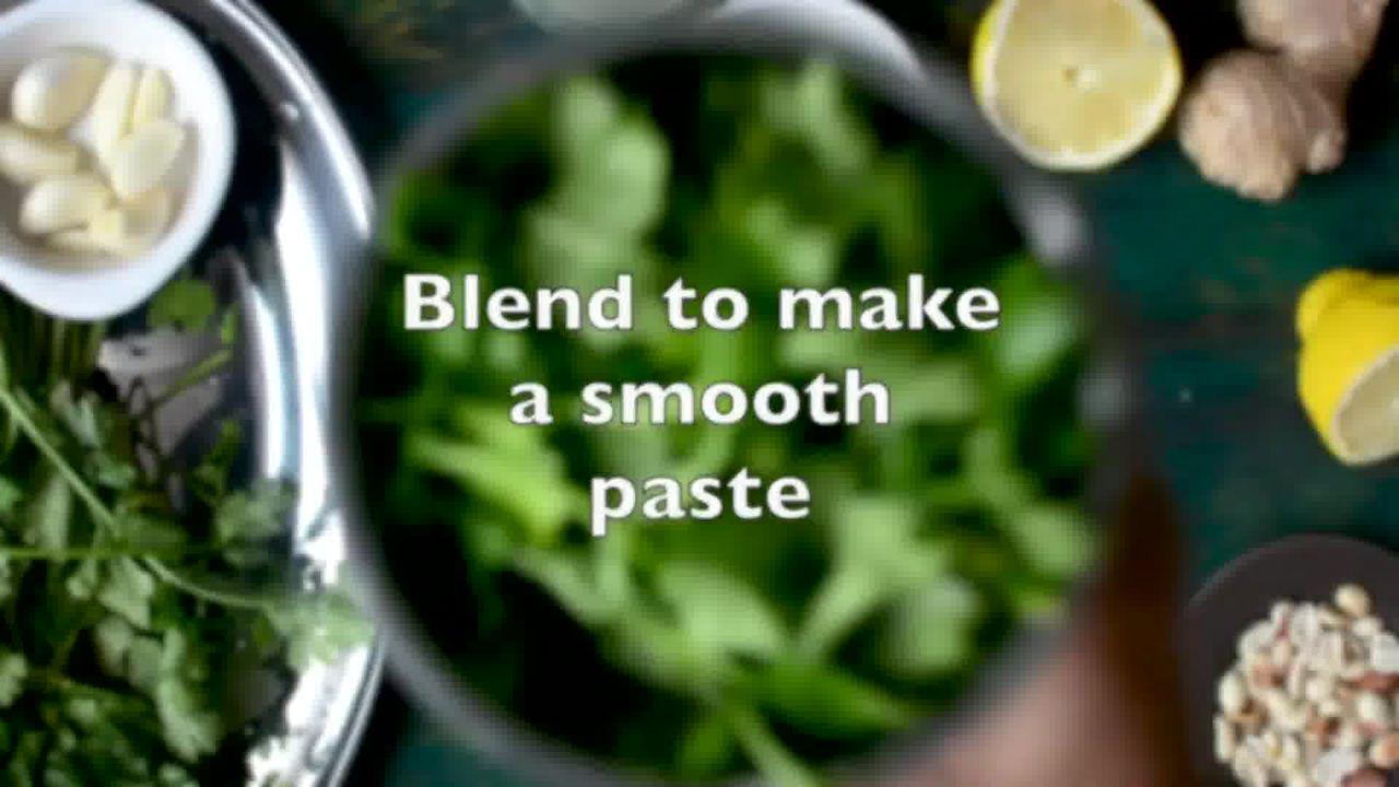Image of the cooking step-2-2 for Coriander Chutney – Hare Dhaniye Ki Chutney (3 Ways)