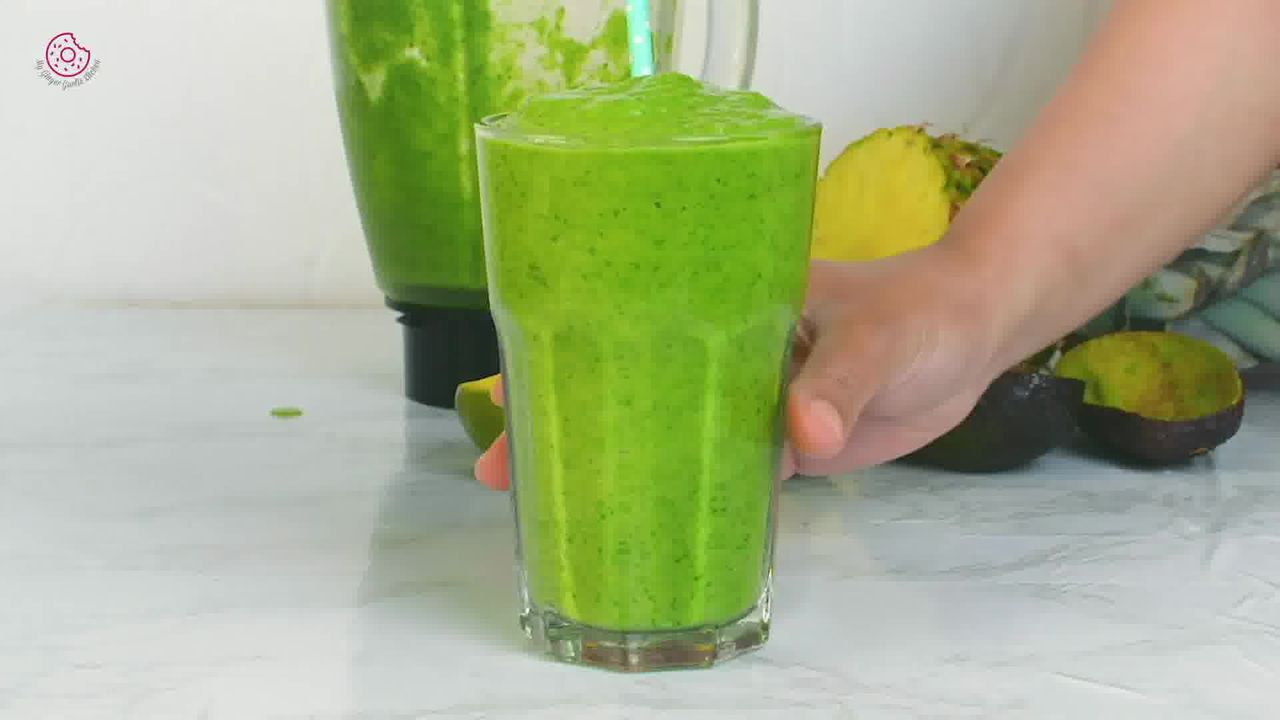 Image of the cooking step-1-4 for Best Green Smoothie