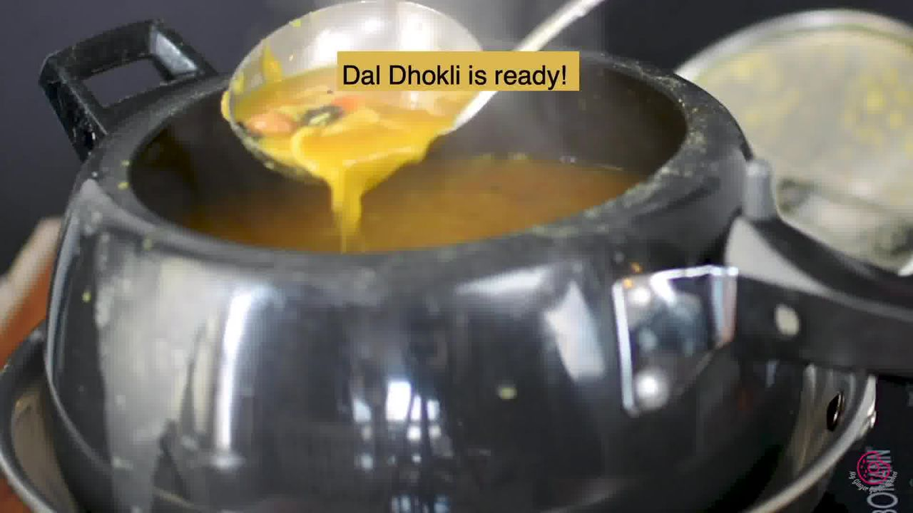 Image of the cooking step-5-8 for Gujarati Dal Dhokli