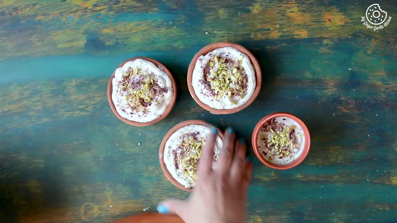 Image of the cooking step-1-9 for Gulkand Shrikhand Recipe - Rose Flavoured Greek Yogurt