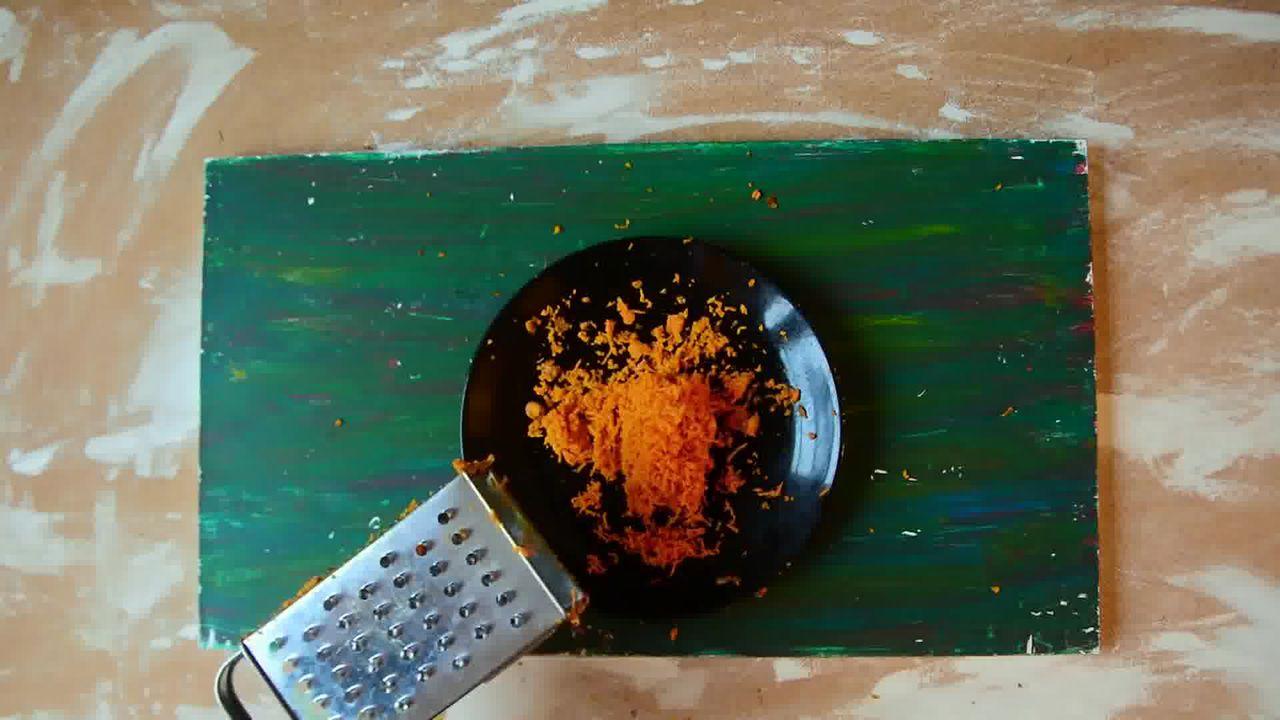 Image of the cooking step-1-3 for Kacchi Haldi ki Sabzi - Fresh Turmeric Root Curry
