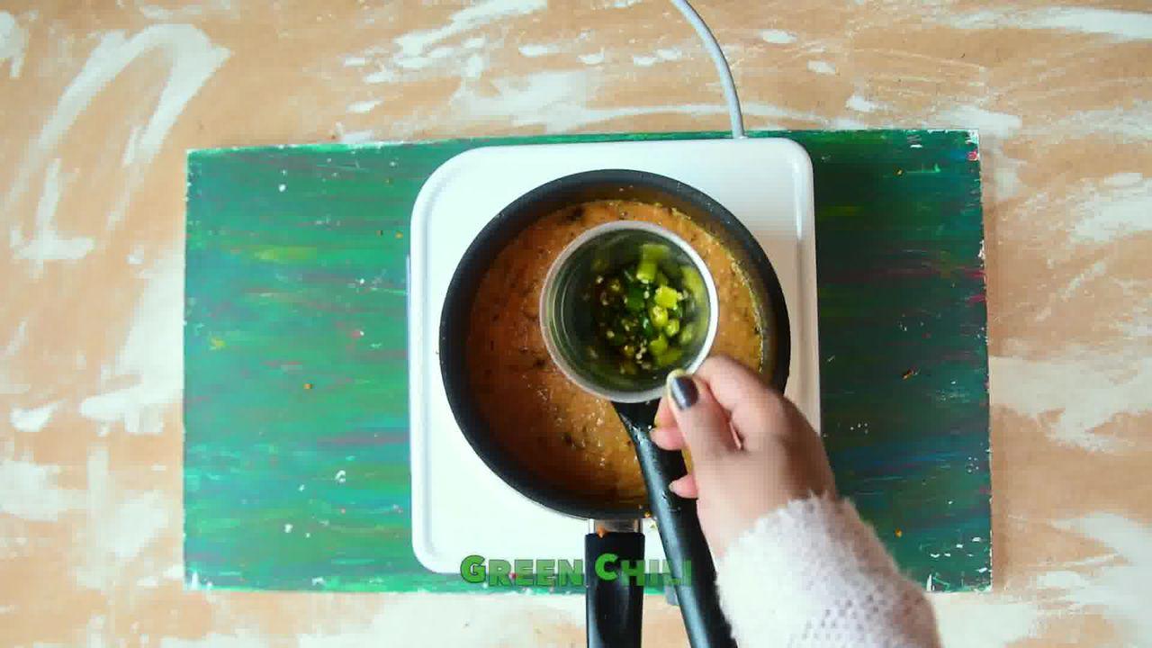 Image of the cooking step-6-5 for Kacchi Haldi ki Sabzi - Fresh Turmeric Root Curry