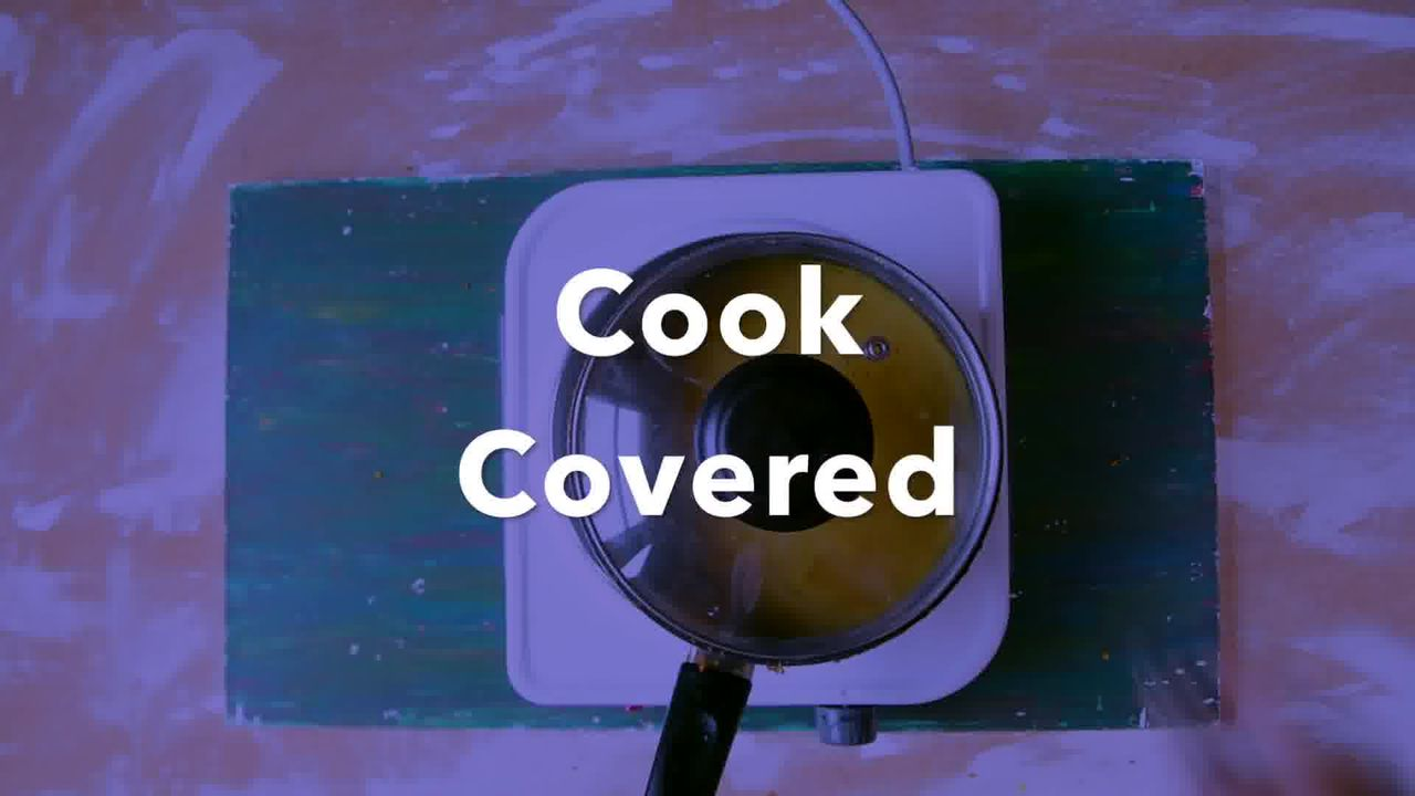 Image of the cooking step-6-8 for Kacchi Haldi ki Sabzi - Fresh Turmeric Root Curry