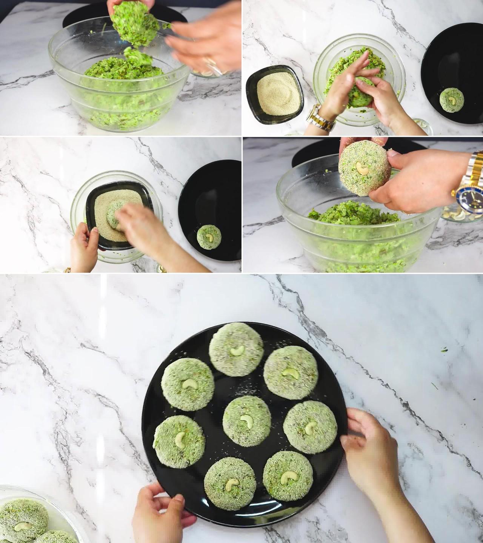 Image of the cooking step-1-11 for Hara Bhara Kabab