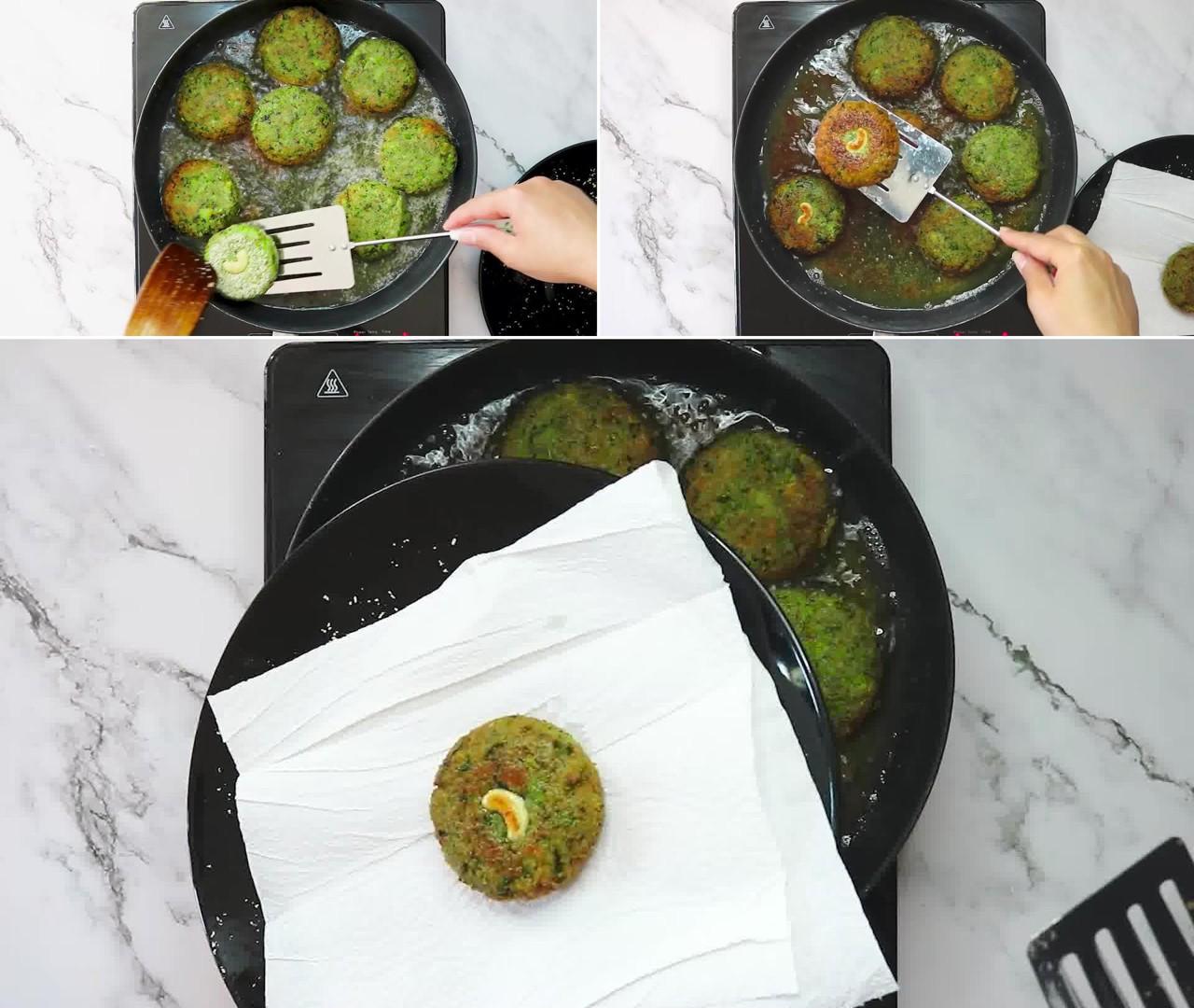 Image of the cooking step-1-13 for Hara Bhara Kabab