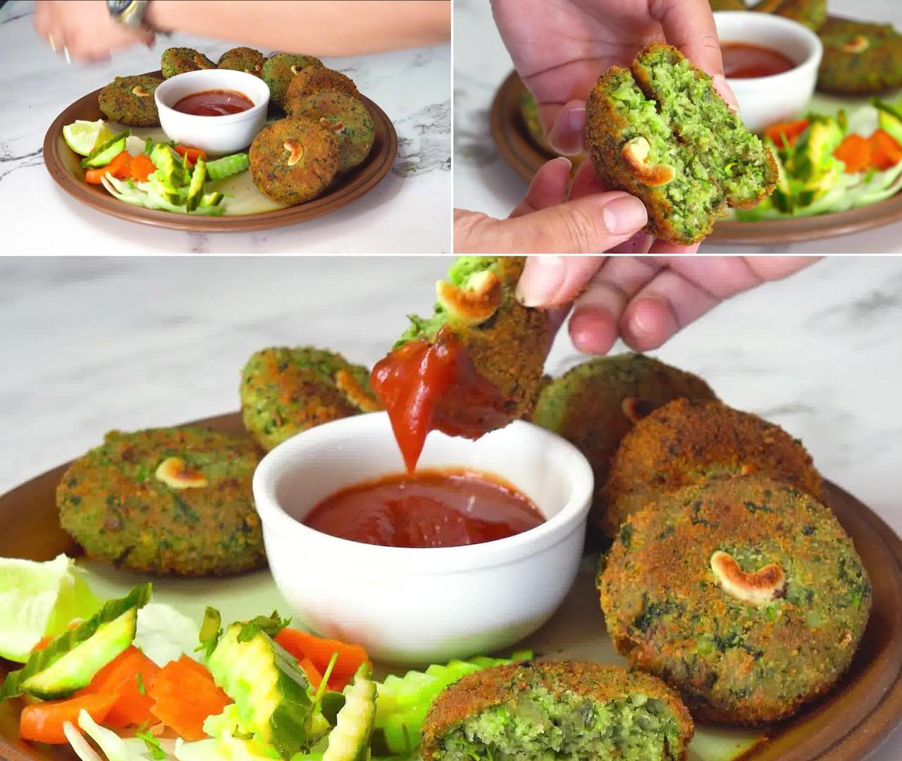 Image of the cooking step-1-14 for Hara Bhara Kabab