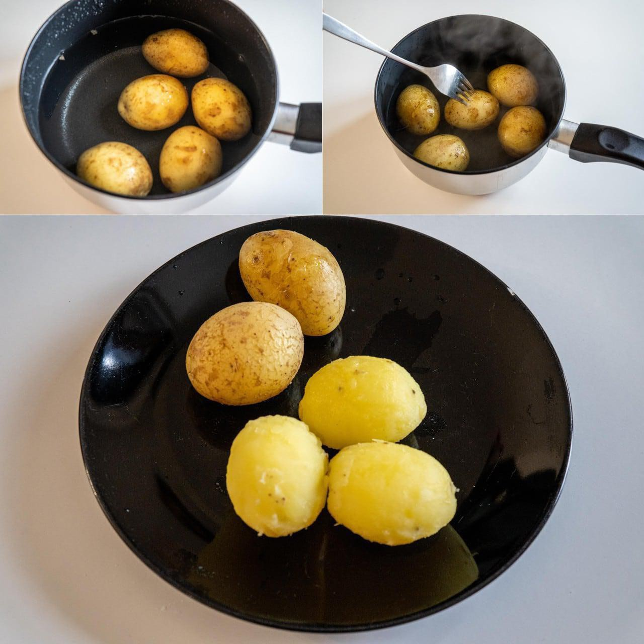 Image of the cooking step-1-2 for Hara Bhara Kabab