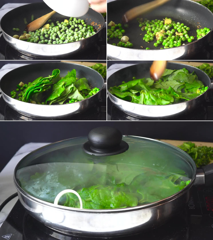 Image of the cooking step-1-5 for Hara Bhara Kabab
