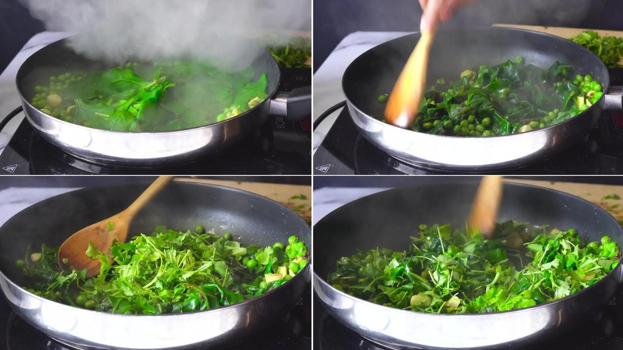 Image of the cooking step-1-6 for Hara Bhara Kabab
