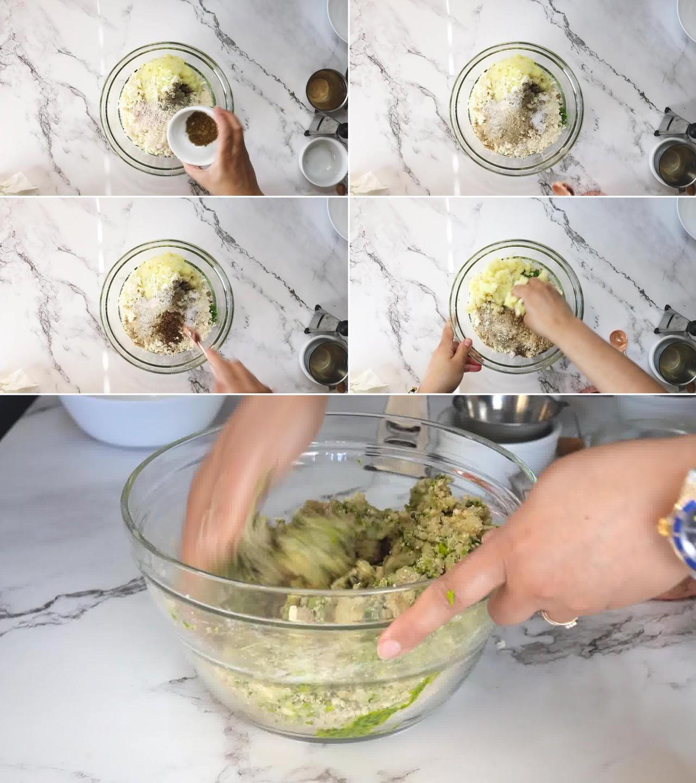 Image of the cooking step-1-9 for Hara Bhara Kabab