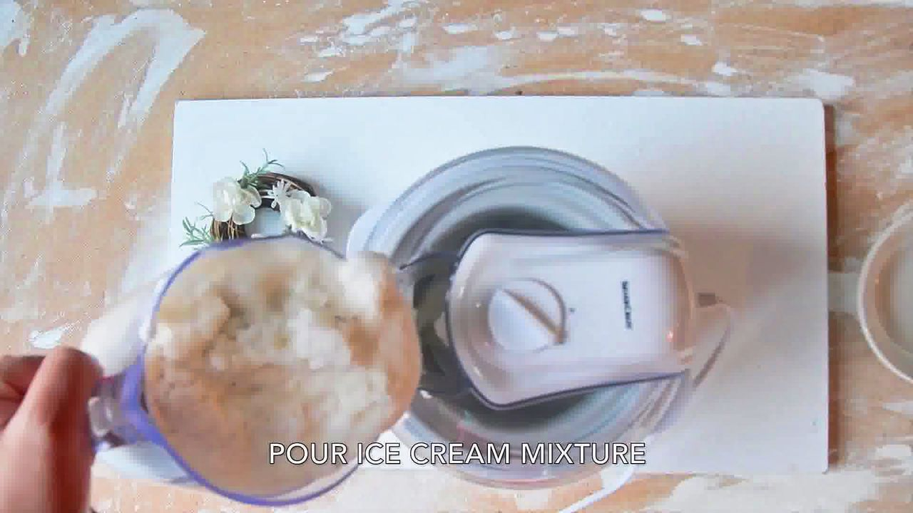 Image of the cooking step-2-3 for Fruit and Nut Ice Cream - Praline And Cream Ice Cream