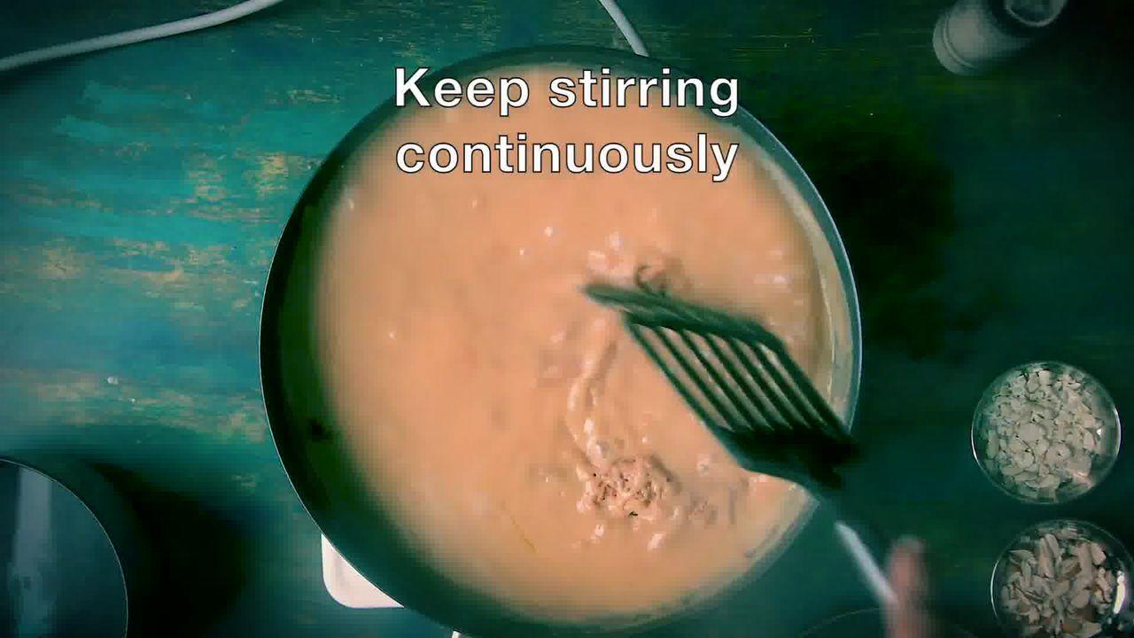 Image of the cooking step-1-6 for Atte Ka Halwa Recipe - Wheat Flour Halwa