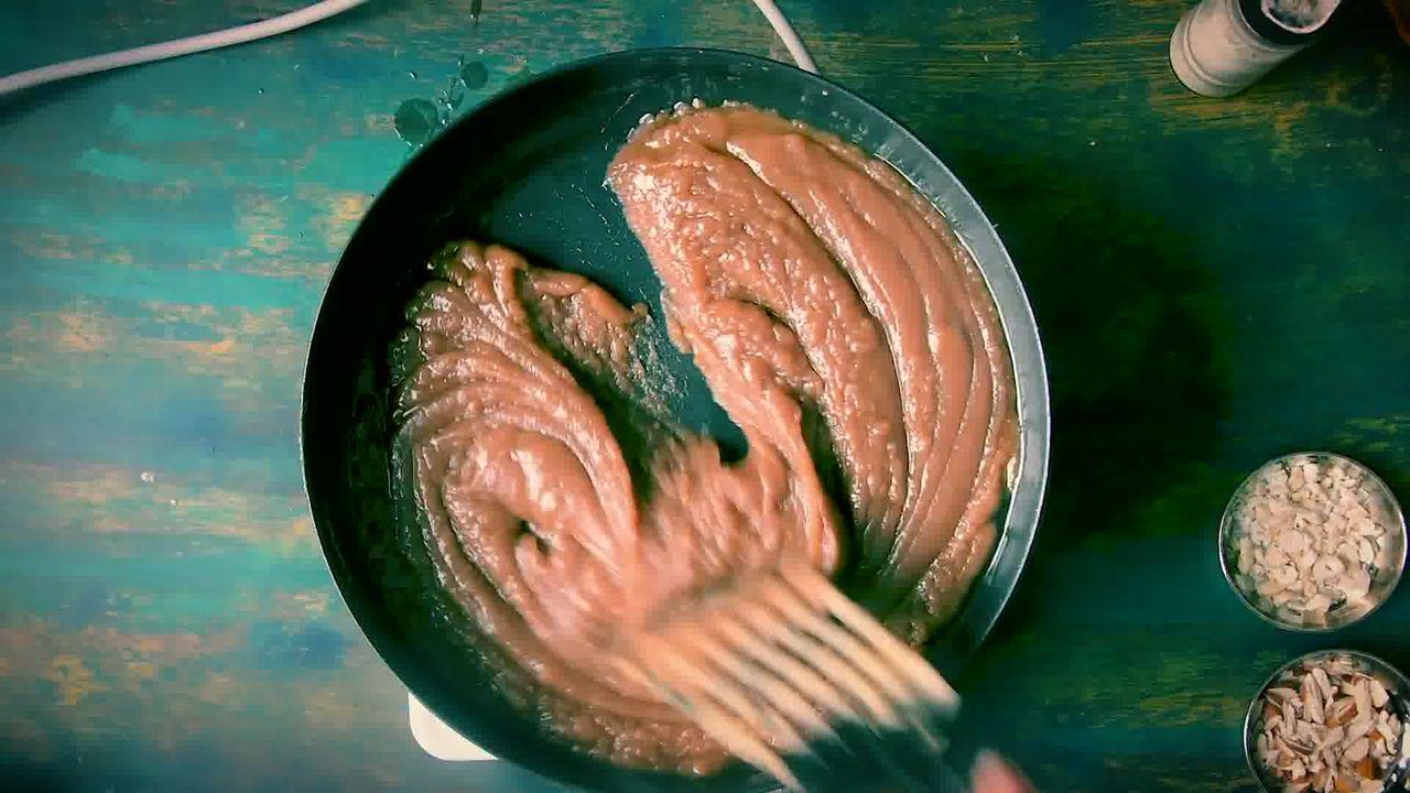 Image of the cooking step-1-9 for Atte Ka Halwa Recipe - Wheat Flour Halwa