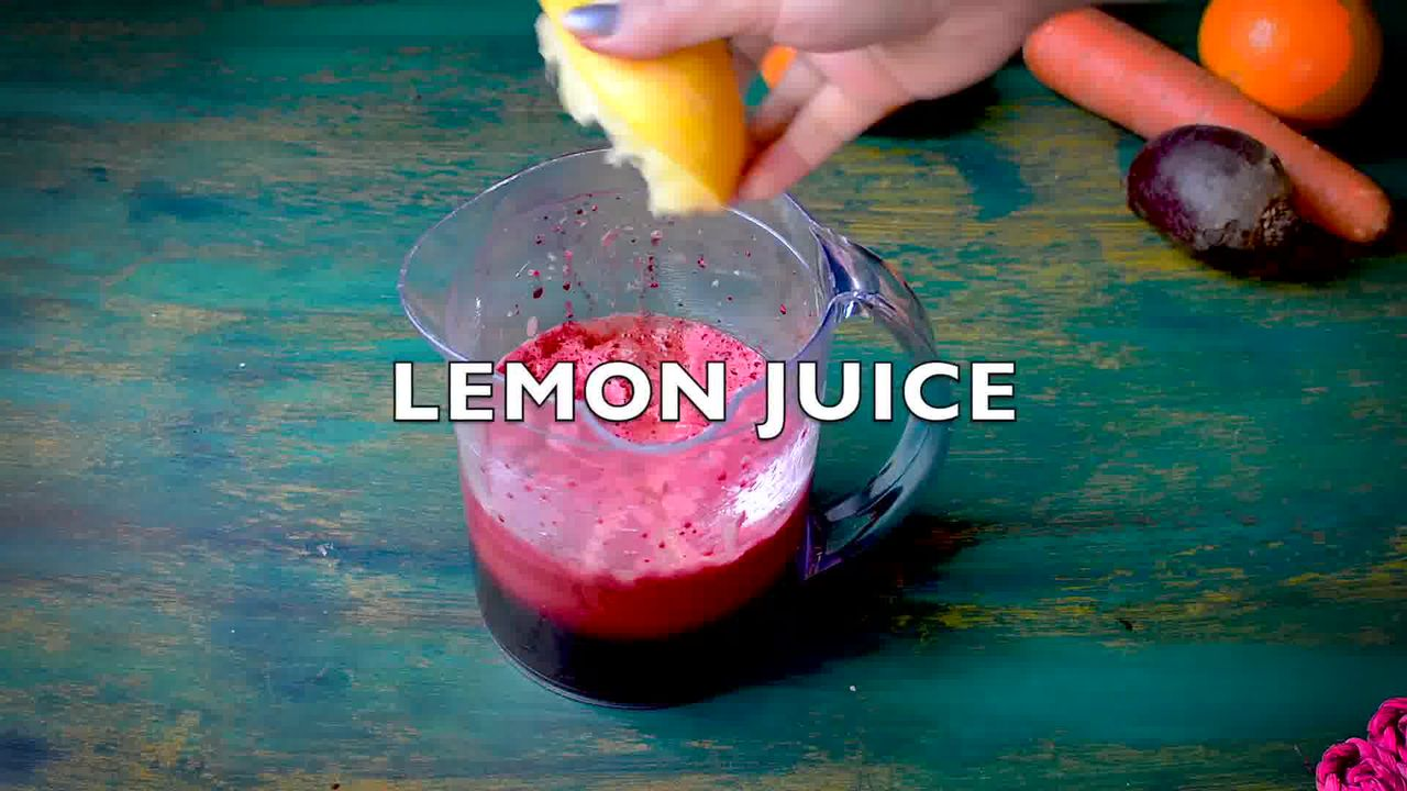 Image of the cooking step-1-2 for How To Make Detox Heart Beet Juice | Video Recipe