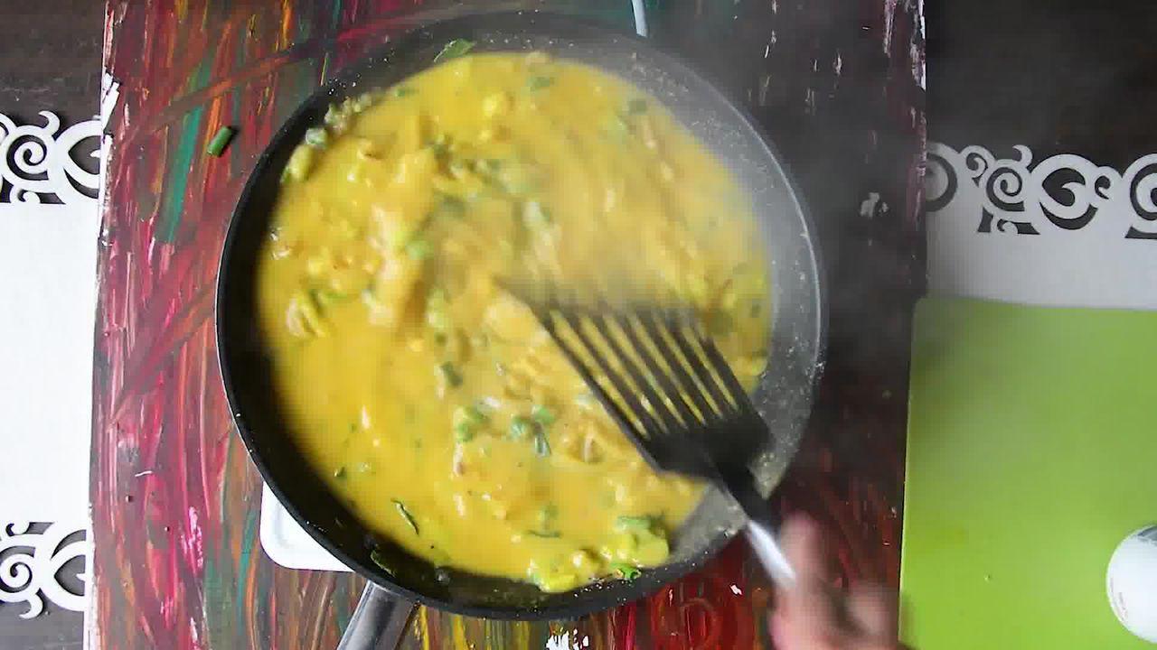 Image of the cooking step-1-8 for How To Make Double Pyaaz Ka Besan - Besan Ki Sabji