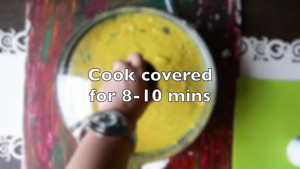 Image of the cooking step-1-9 for How To Make Double Pyaaz Ka Besan - Besan Ki Sabji