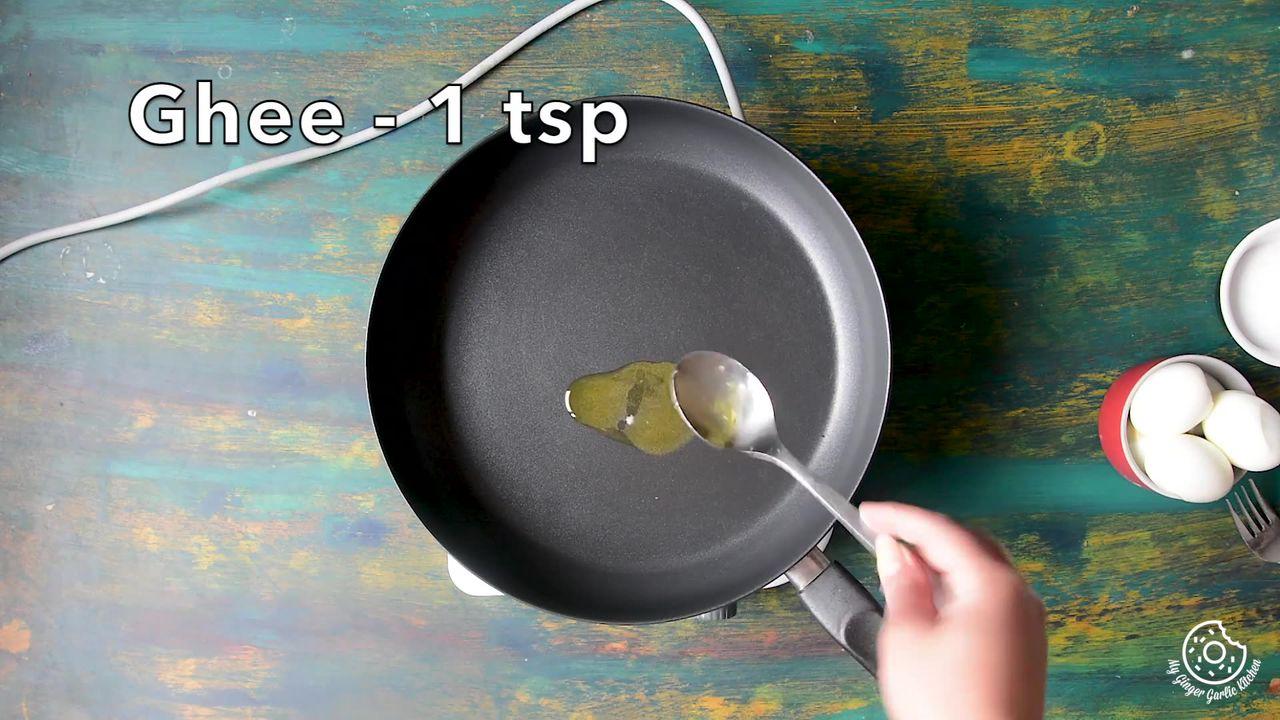 Image of the cooking step-3-1 for Hyderabadi Egg Biryani - Egg Dum Biryani (Video Recipe)