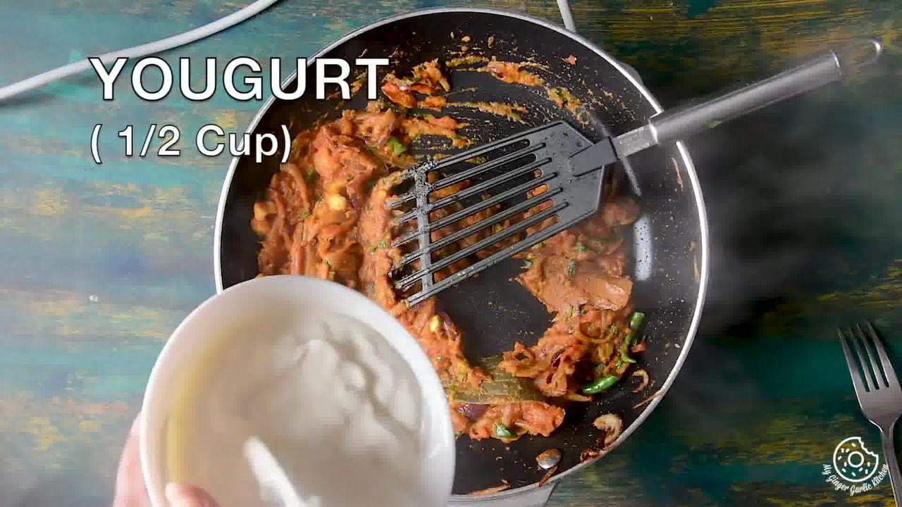 Image of the cooking step-4-8 for Hyderabadi Egg Biryani - Egg Dum Biryani (Video Recipe)