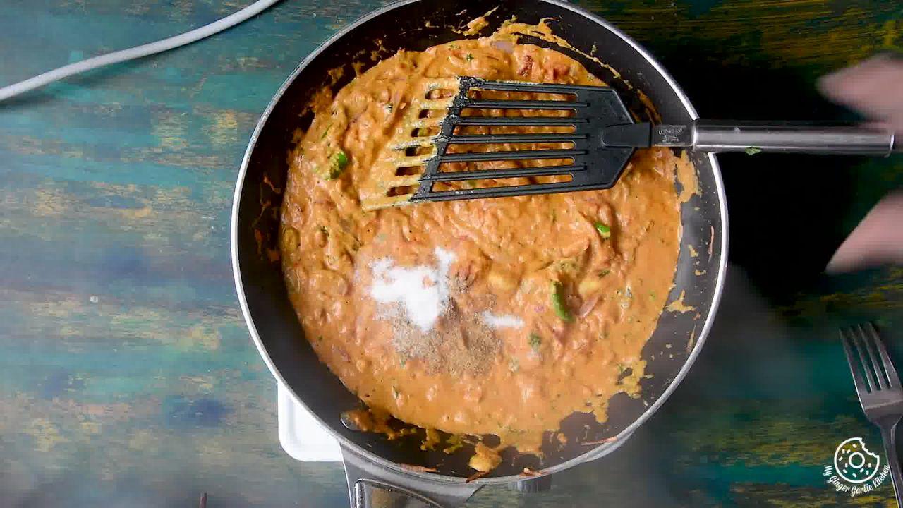 Image of the cooking step-4-9 for Hyderabadi Egg Biryani - Egg Dum Biryani (Video Recipe)