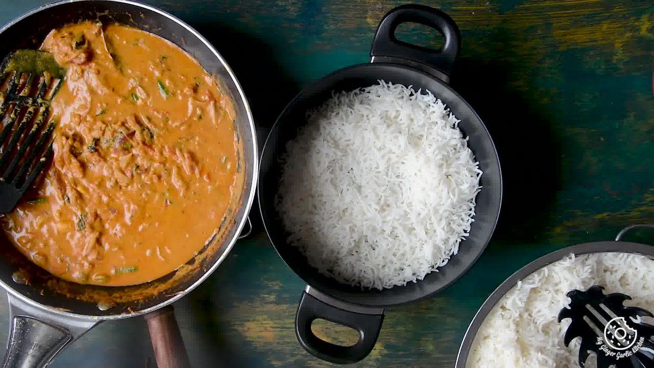Image of the cooking step-5-1 for Hyderabadi Egg Biryani - Egg Dum Biryani (Video Recipe)