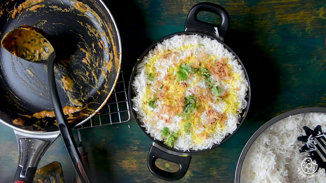 Image of the cooking step-5-5 for Hyderabadi Egg Biryani - Egg Dum Biryani (Video Recipe)
