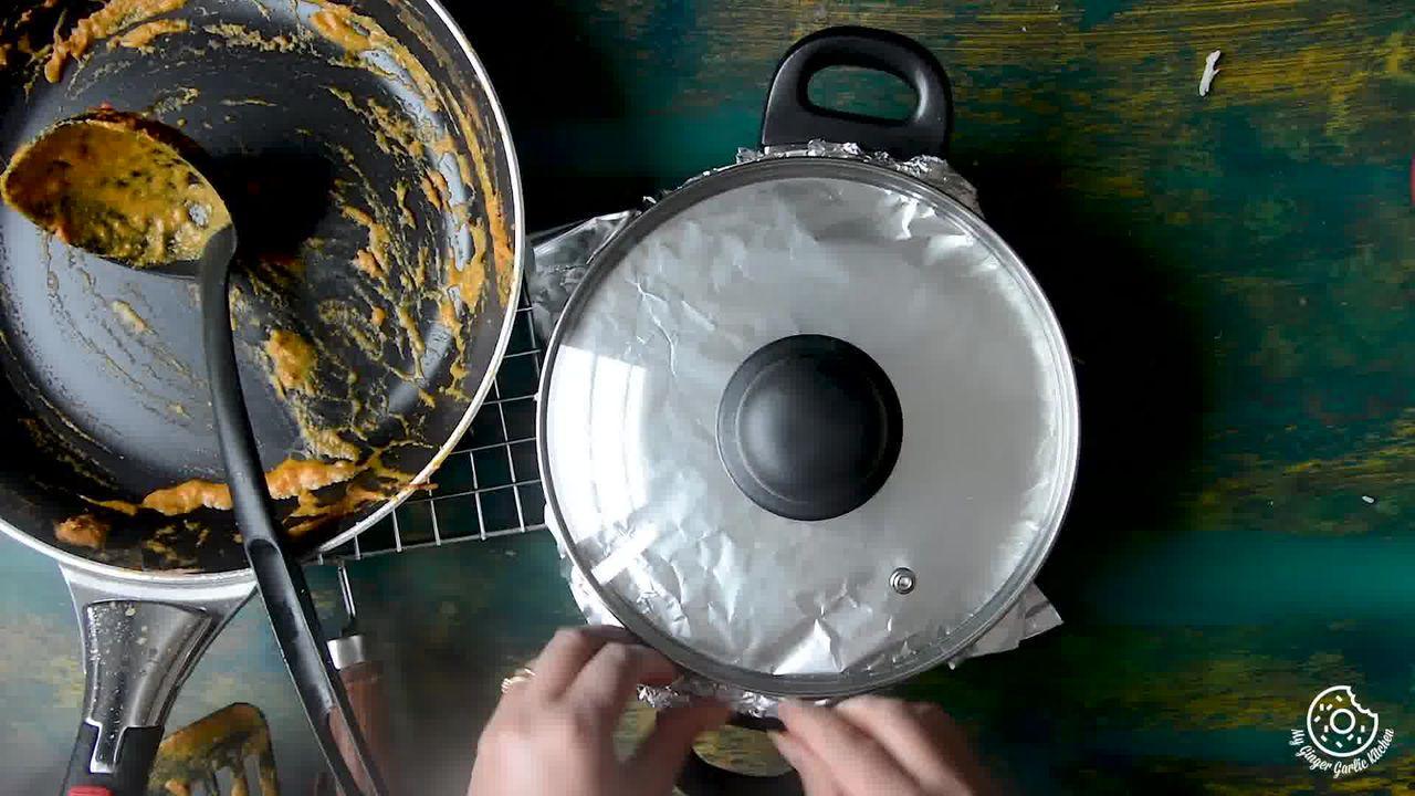 Image of the cooking step-6-1 for Hyderabadi Egg Biryani - Egg Dum Biryani (Video Recipe)
