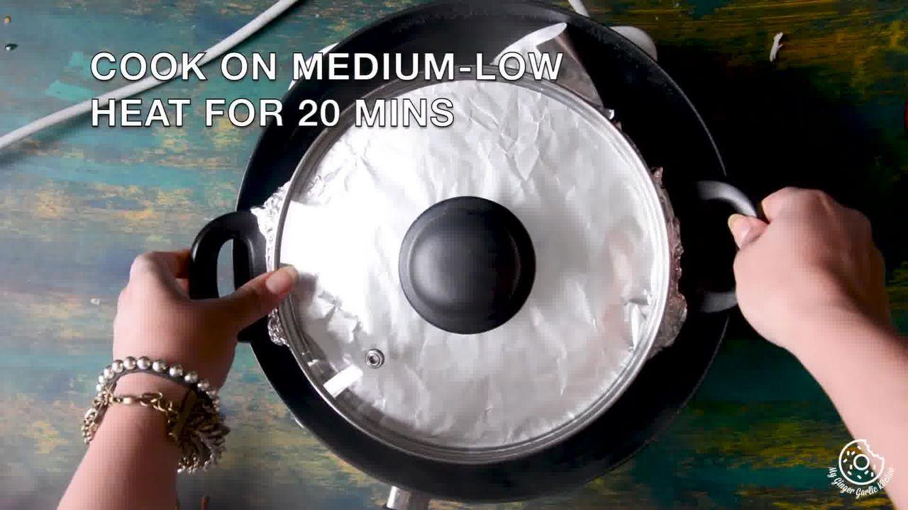 Image of the cooking step-6-2 for Hyderabadi Egg Biryani - Egg Dum Biryani (Video Recipe)