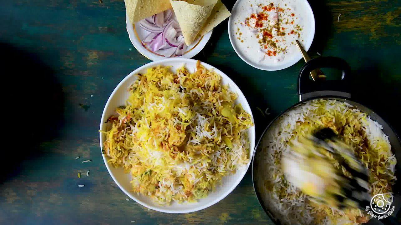 Image of the cooking step-6-5 for Hyderabadi Egg Biryani - Egg Dum Biryani (Video Recipe)