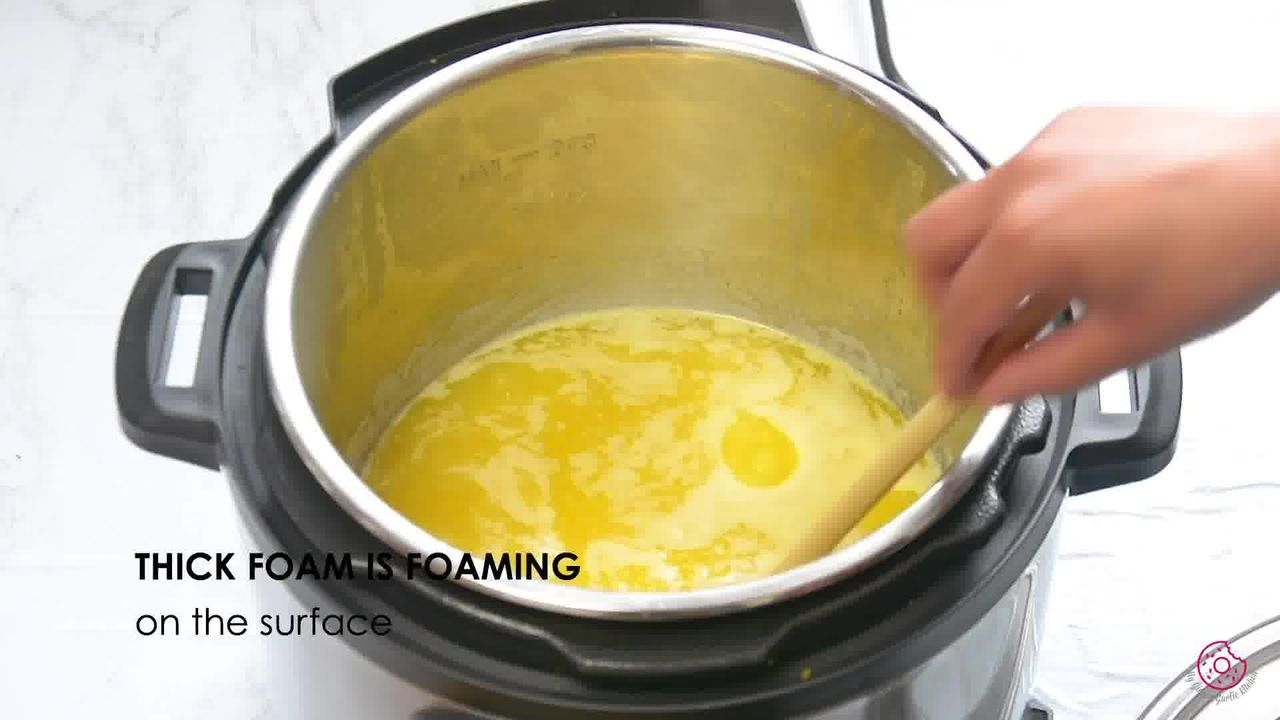Image of the cooking step-1-5 for How to Make Ghee from Butter (Pan + Instant Pot)