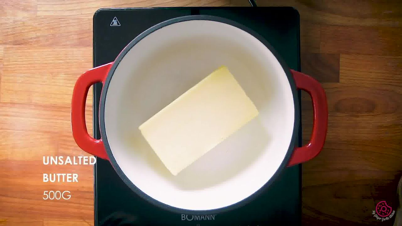 Image of the cooking step-2-1 for How to Make Ghee from Butter (Pan + Instant Pot)