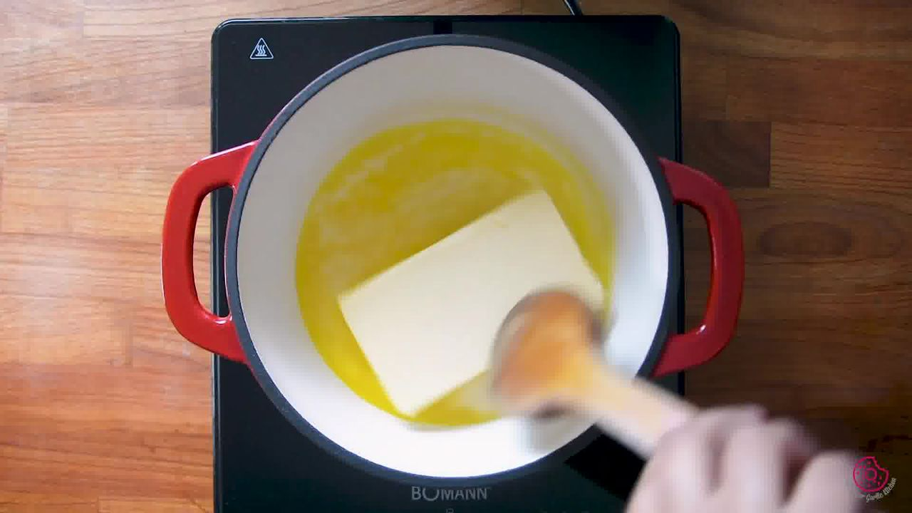 Image of the cooking step-2-2 for How to Make Ghee from Butter (Pan + Instant Pot)