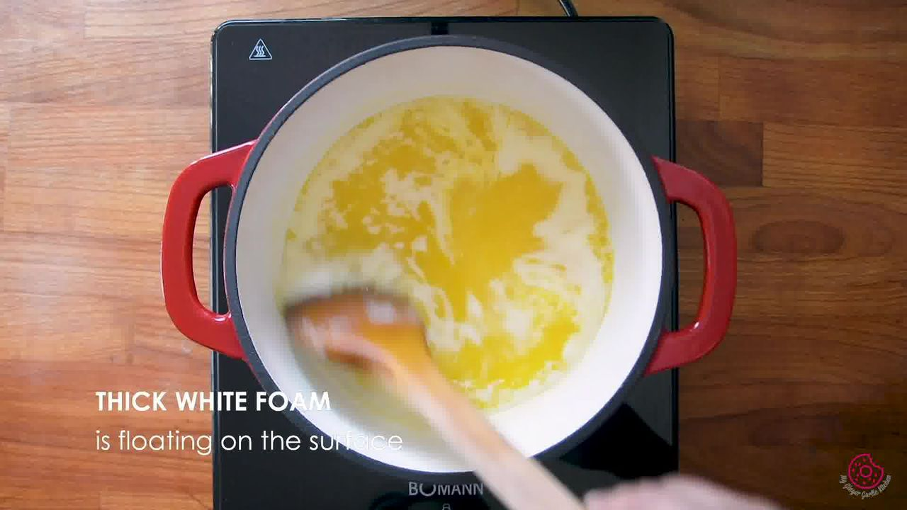 Image of the cooking step-2-3 for How to Make Ghee from Butter (Pan + Instant Pot)