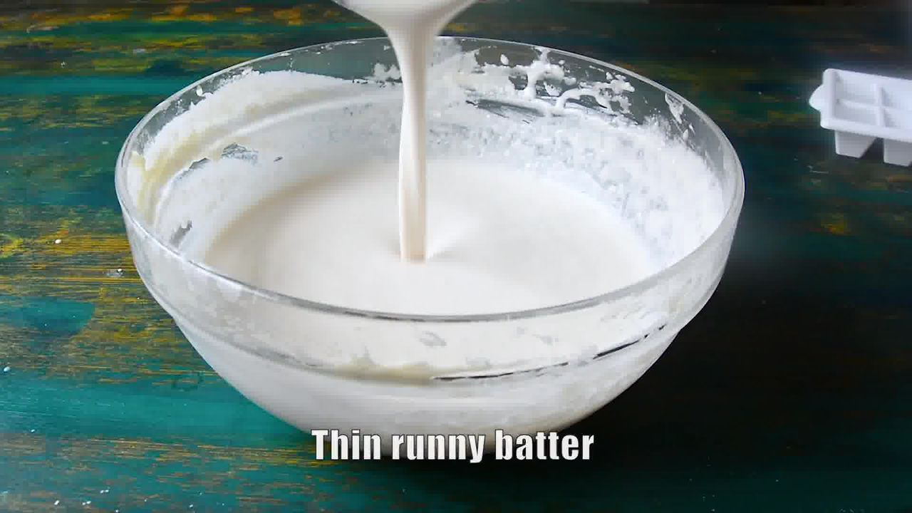 Image of the cooking step-1-6 for Ghevar - How To Make Jaipuri Malai Ghevar