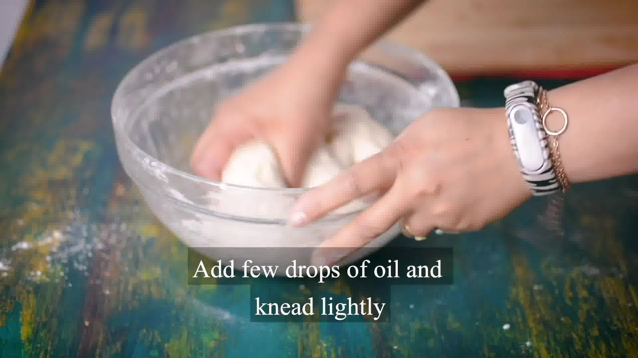 Image of the cooking step-1-5 for Quick And Easy Bhatura - Instant Bhature With Soda Water