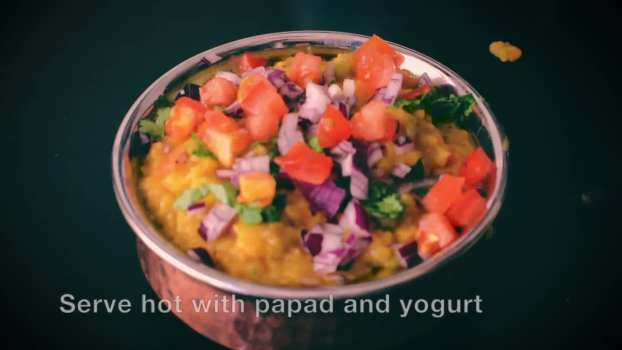 Image of the cooking step-1-18 for How To Make Masala Khichdi (Vegetable Khichdi Recipe)