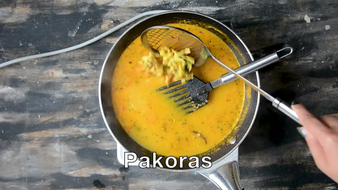 Image of the cooking step-1-13 for Pakore Ki Sabzi - Indian Fritters Curry