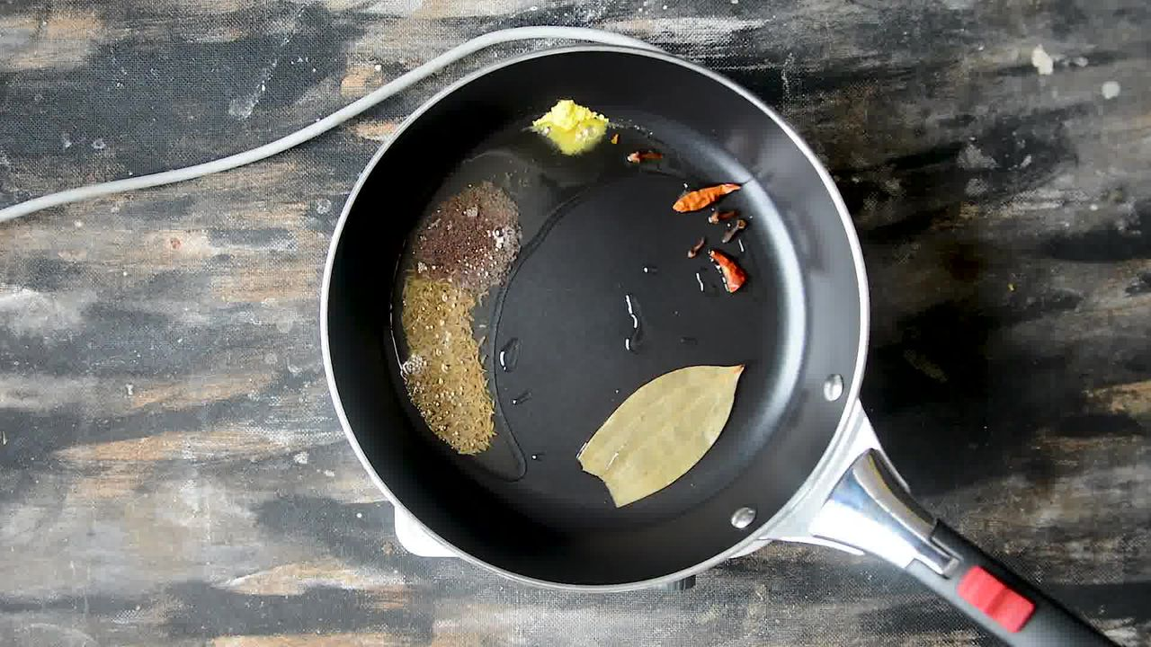 Image of the cooking step-1-2 for Pakore Ki Sabzi - Indian Fritters Curry