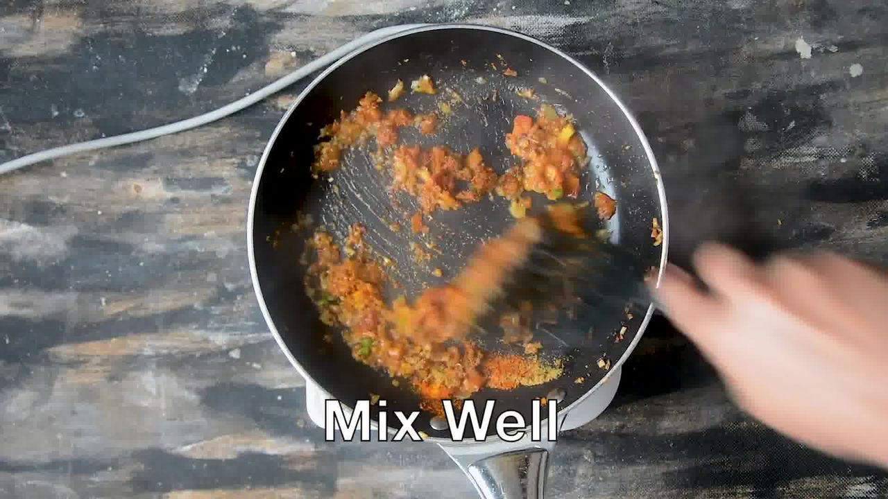 Image of the cooking step-1-6 for Pakore Ki Sabzi - Indian Fritters Curry