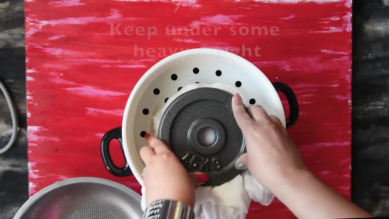 Image of the cooking step-1-10 for How to Make Paneer (Step-by-Step-Video)