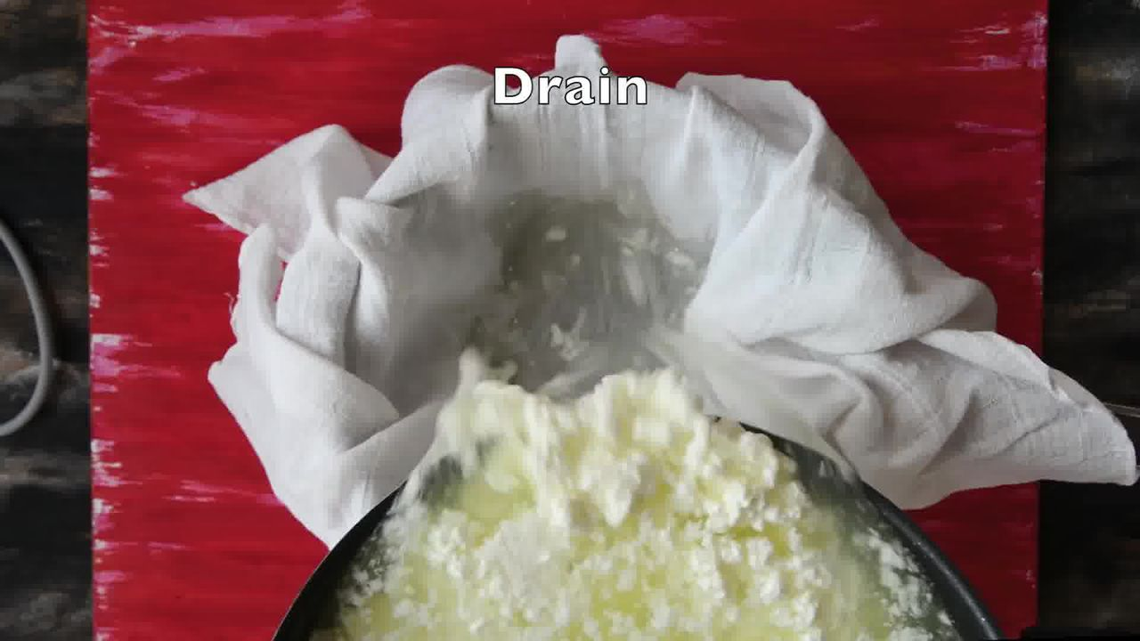 Image of the cooking step-1-6 for How to Make Paneer (Step-by-Step-Video)