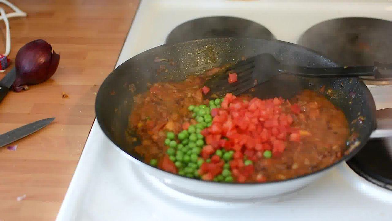 Image of the cooking step-1-9 for Paneer Bhurji Dry - Scrambled Paneer (Video Recipe)