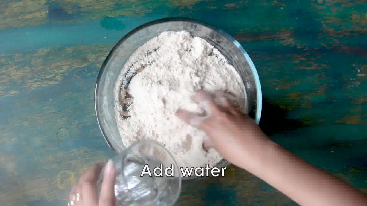Image of the cooking step-1-2 for How to make Puri Bhaji - Poori Bhaji - Batata Bhaji Poori