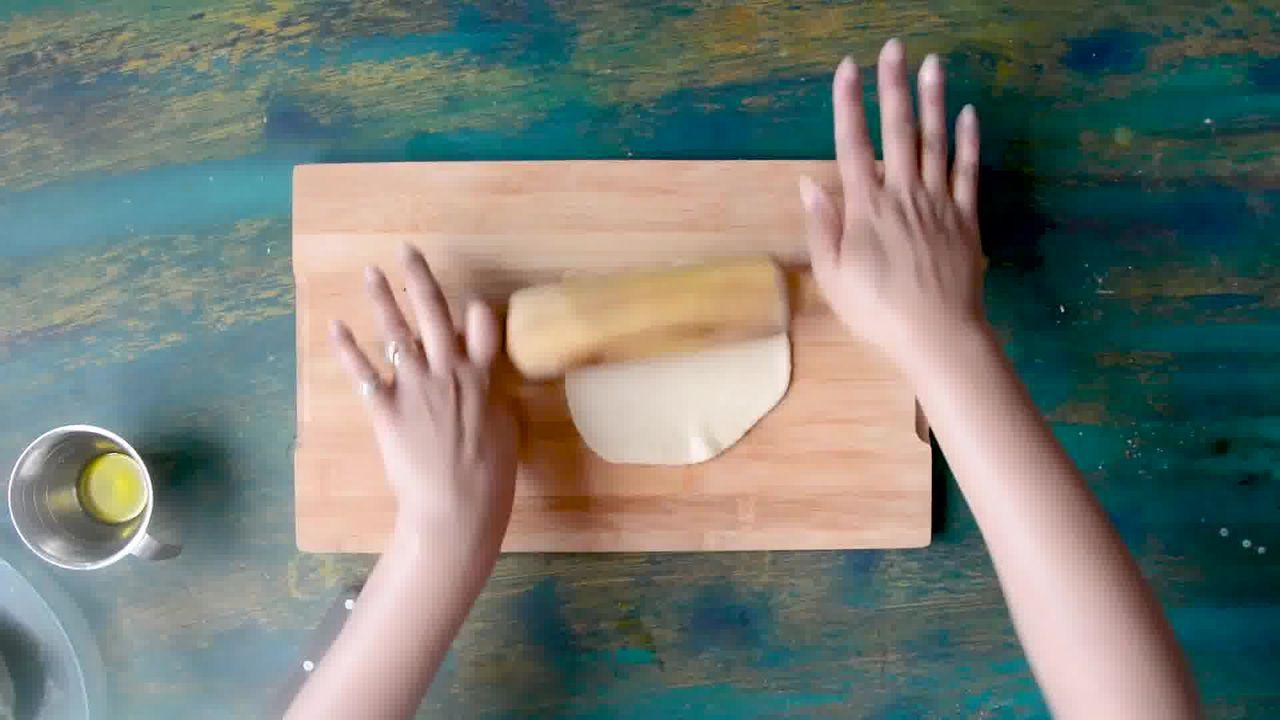 Image of the cooking step-1-6 for How to make Puri Bhaji - Poori Bhaji - Batata Bhaji Poori