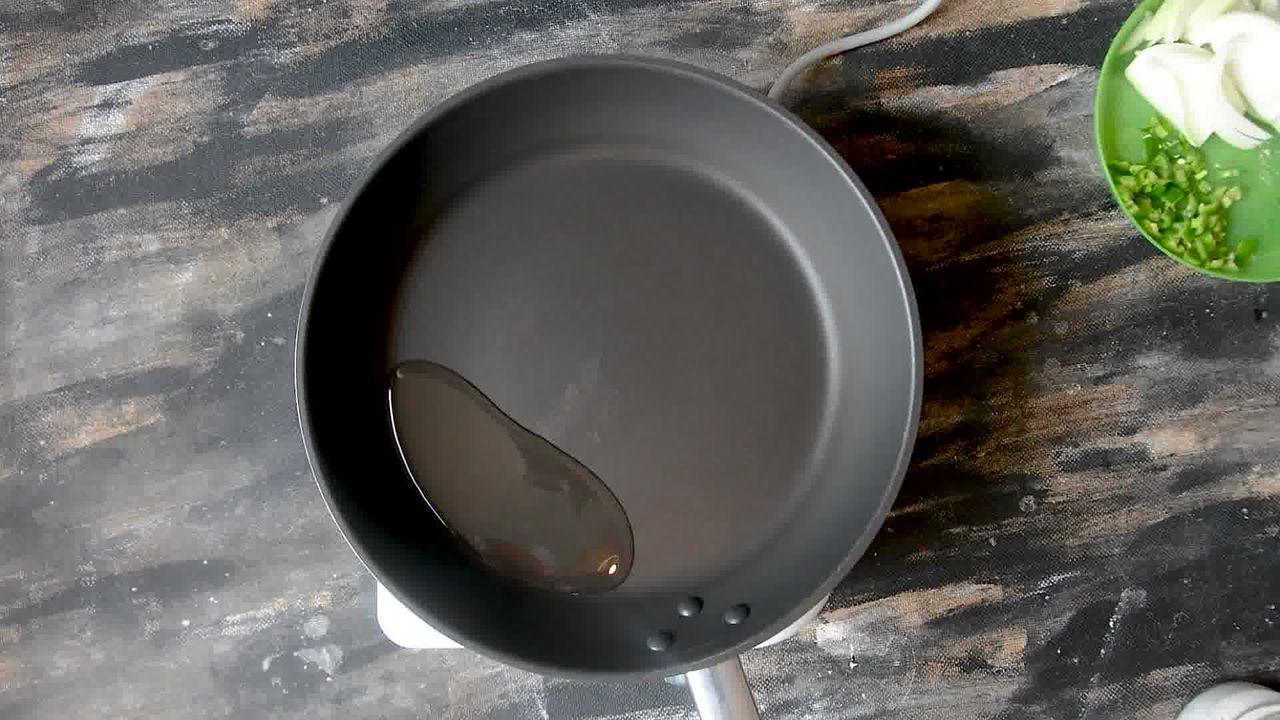 Image of the cooking step-2-1 for How to make Puri Bhaji - Poori Bhaji - Batata Bhaji Poori
