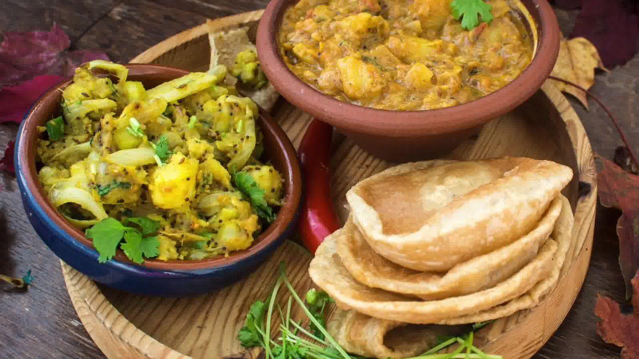 Image of the cooking step-2-12 for How to make Puri Bhaji - Poori Bhaji - Batata Bhaji Poori