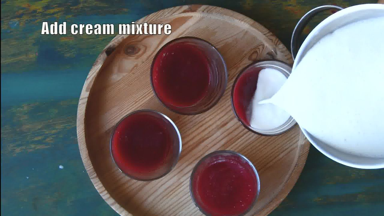 Image of the cooking step-2-6 for Strawberry Panna Cotta Recipe