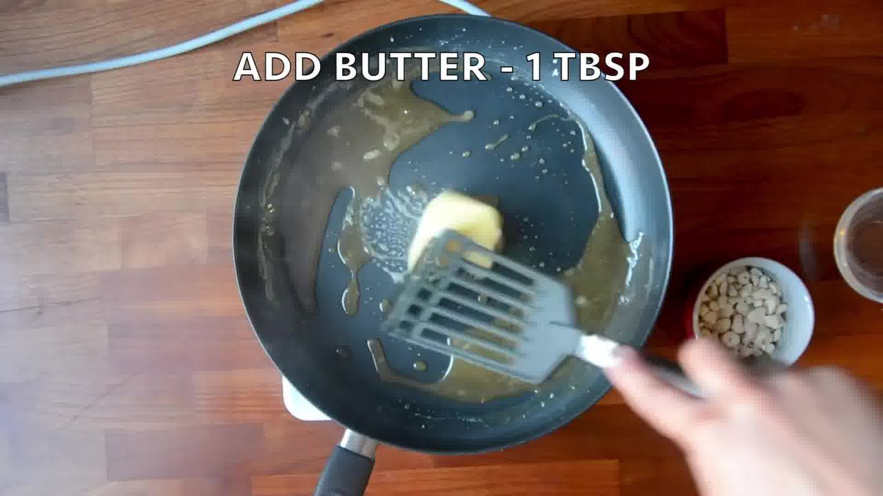 Image of the cooking step-1-2 for Indian Butterscotch Ice Cream Recipe - No Churn - Eggless