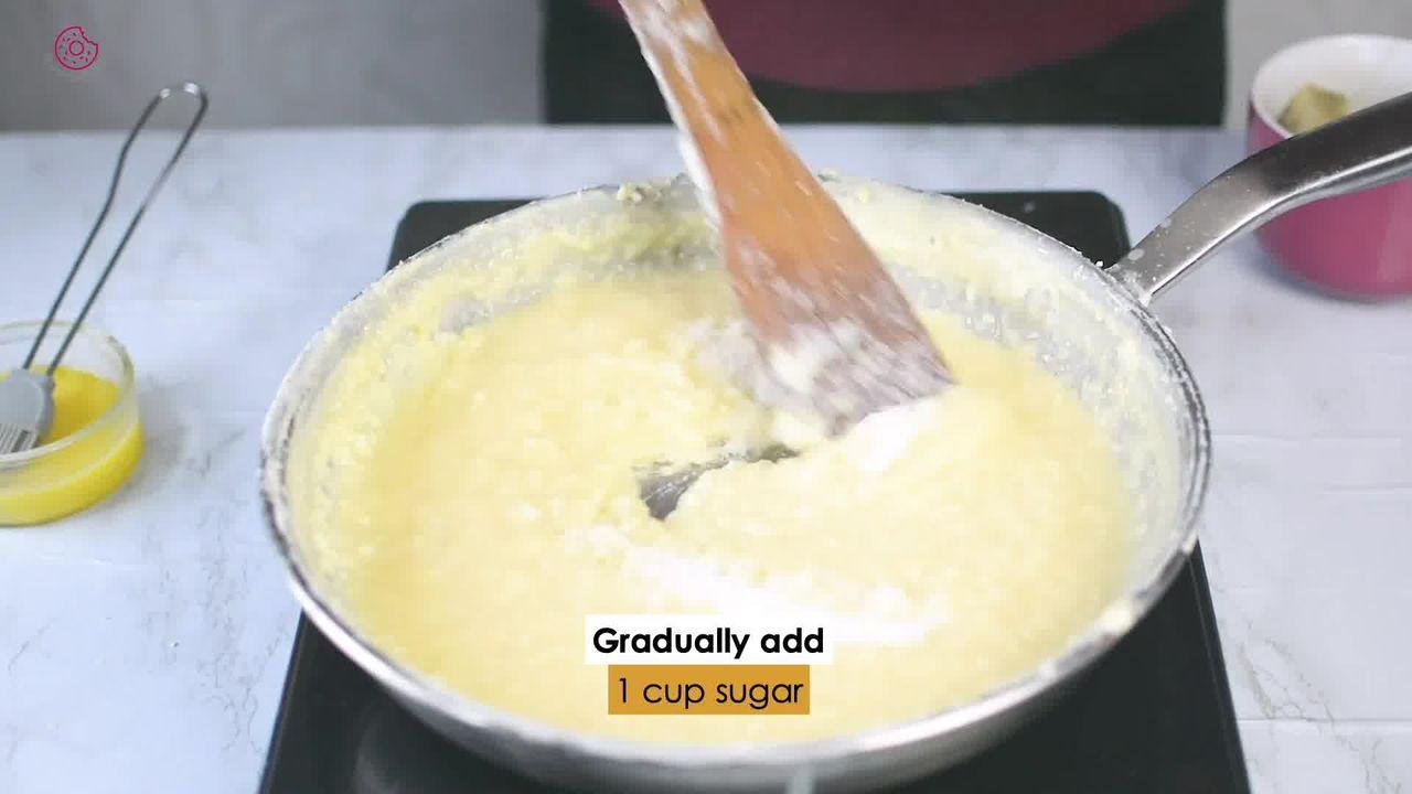 Image of the cooking step-1-6 for Indian Milk Cake (Alwar Ka Mawa)